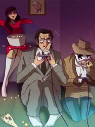 Watchmen Nintendo Time by Buuya