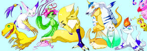 digidrawn prodigious digimon