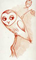 Owltober 4th by Buuya