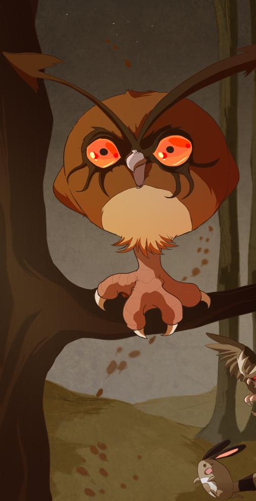 Owltober 10th by Buuya