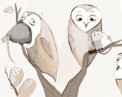 Thanksgiving Owls