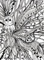 Owltober Overgrowth by Buuya