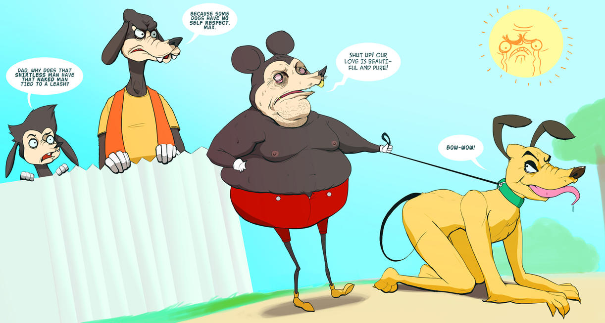 Why Is Mickey Mouse Into Hot Dogs