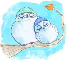 owltober 6th by Buuya