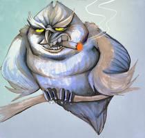 cigowlrello or cigar? by Buuya