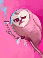 owltober 15 by Buuya