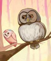 Owltober 29th by Buuya