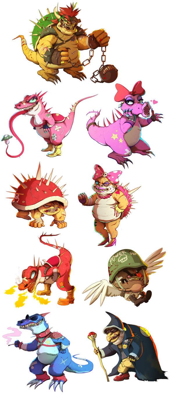 Mad Mario by Buuya