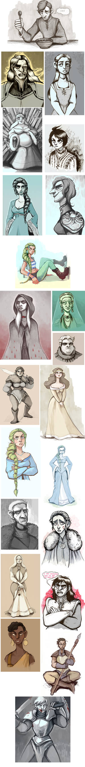one time in westeros...