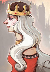 the quiet queen by Buuya