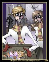 A Dirty Weasley Secret