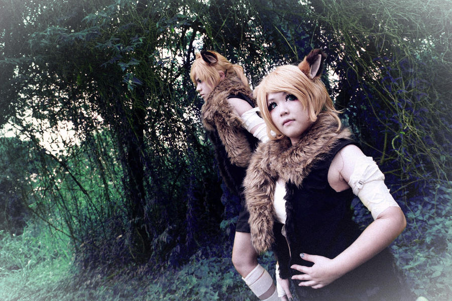 Vocaloid Rhapsody of Loup-Garous - Rin Len by Xeno-Photography