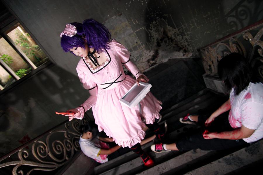 Mirai Nikki - Uryuu Minene by Xeno-Photography