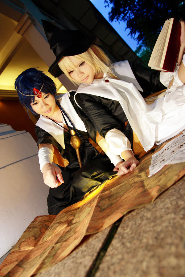 Magi - Aladdin x Titus by Xeno-Photography