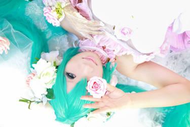 Vocaloid Wedding - Miku by Xeno-Photography