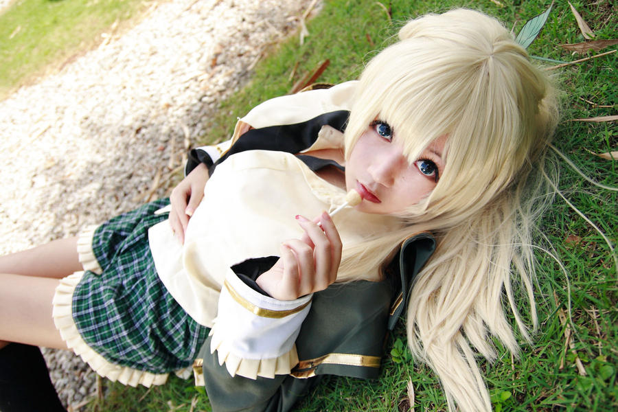 Haganai - Sena by Xeno-Photography