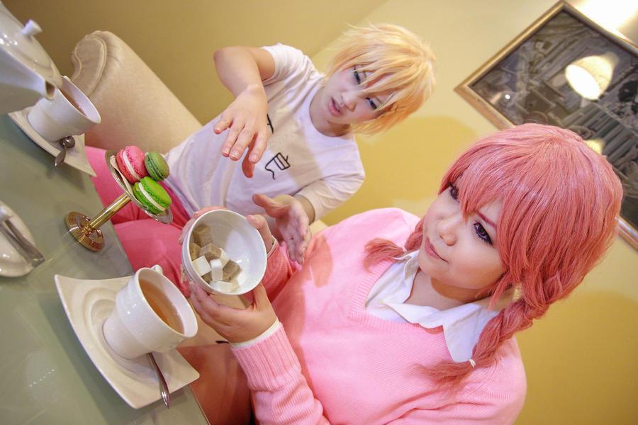 Inu x Boku SS - Watanuki x Karuta by Xeno-Photography