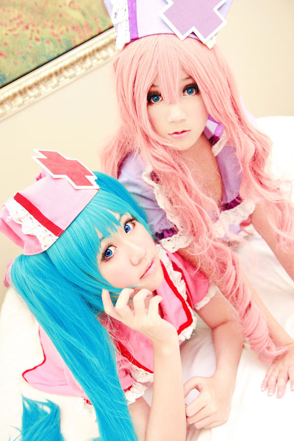 Vocaloid Love Ward - Miku Luka by Xeno-Photography