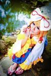 Vocaloid Kimono - Rin
