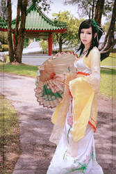 Chinese Paladin - TangYuRou by Xeno-Photography
