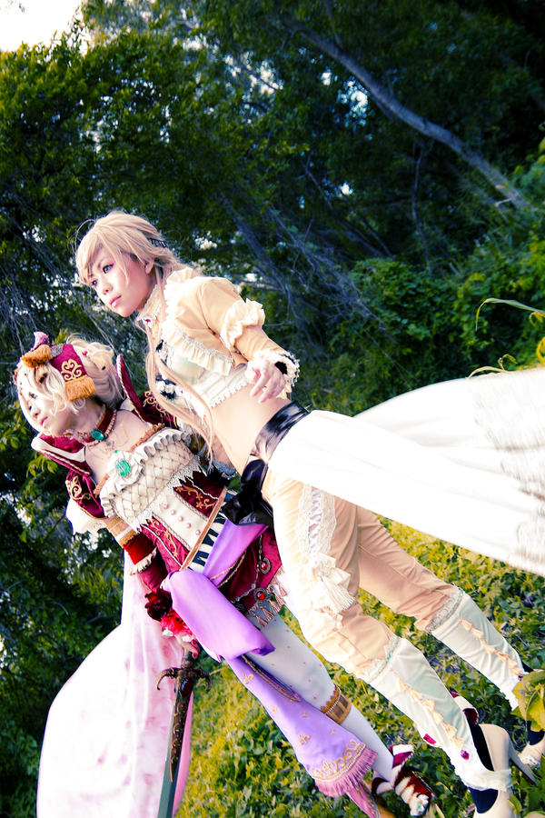 Final Fantasy VI - Tina x Celes by Xeno-Photography