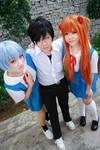 Evangelion - Rei x Shinji x Asuka