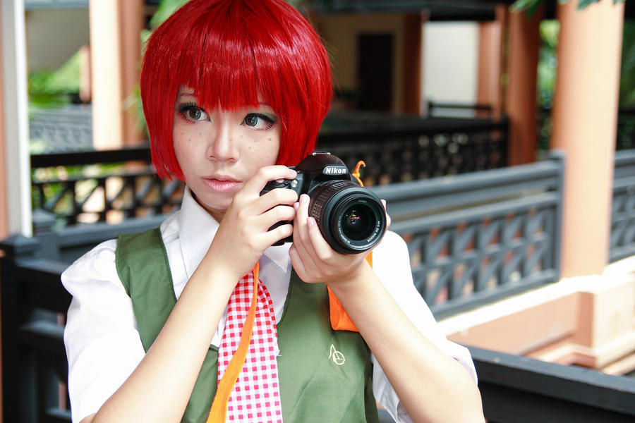 Danganronpa 2 - Mahiru by Xeno-Photography