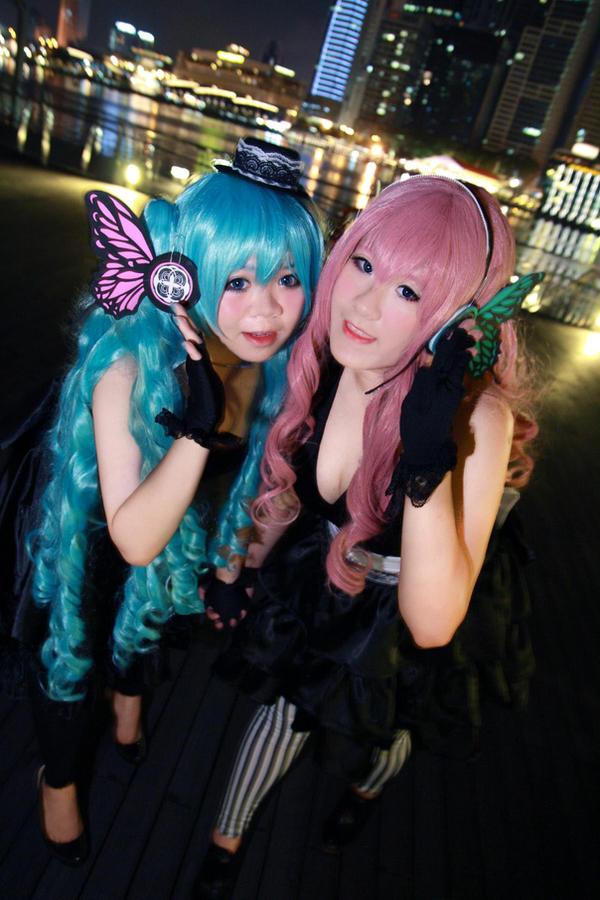 Vocaloid Magnet - Miku x Luka by Xeno-Photography