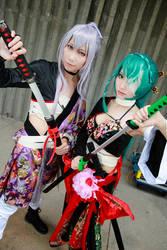 Vocaloid Knife - Len x Miku by Xeno-Photography