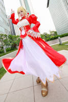 Fate/Extra - Saber Nero by Xeno-Photography