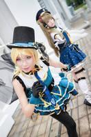 Love Live! - Job Kotori x Eli by Xeno-Photography