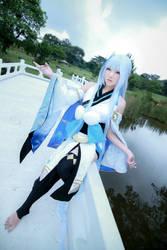 Onmyoji - Snow Girl by Xeno-Photography