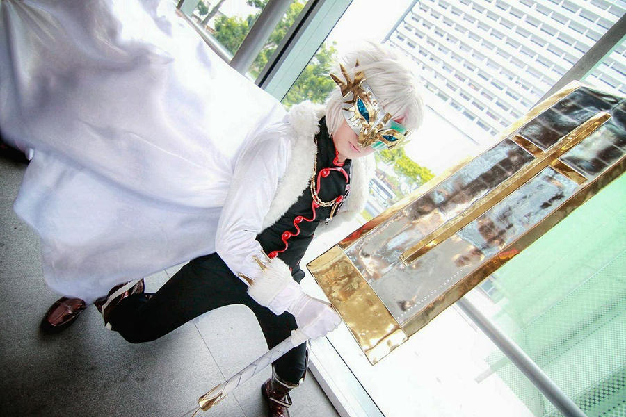 D.Gray-man - Allen Walker Crown Clown by Xeno-Photography