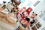 Love Live! - Valentine's Day Maid Rin x Maki by Xeno-Photography