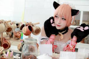 Love Live! - Valentine's Day Maid Hoshizora Rin by Xeno-Photography