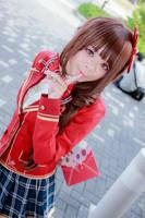 IdolM@ster - Love Letter Uzuki Makio by Xeno-Photography