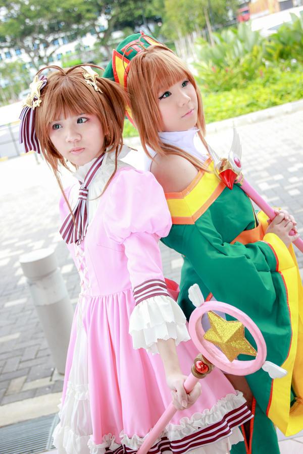 Cardcaptor Sakura - Sakura x Syaoran Sakura by Xeno-Photography