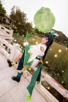 Onmyoji - Hotarugusa by Xeno-Photography