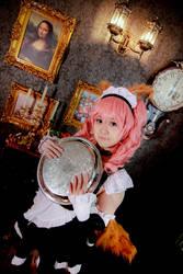 Fate/Grand Order - Tamamo no Mae Tail Maid by Xeno-Photography
