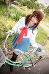 Uniform - School Bicycle by Xeno-Photography