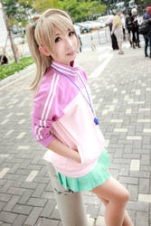 Love Live! - Sports Minami Kotori by Xeno-Photography