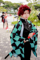 Kimetsu no Yaiba - Kamado Tanjiro by Xeno-Photography