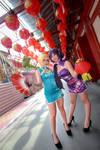 Love Live! - China Qipao Eli x Nozomi