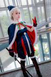 Fate/Grand Order - Rider Altria Pendragon Santa