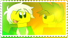 stamp: greenflame by stamps-for-something