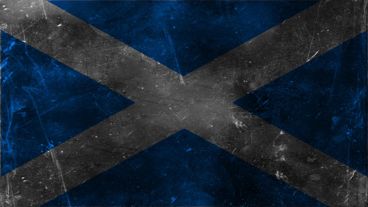 grunge scottish flag by k567 on deviantart