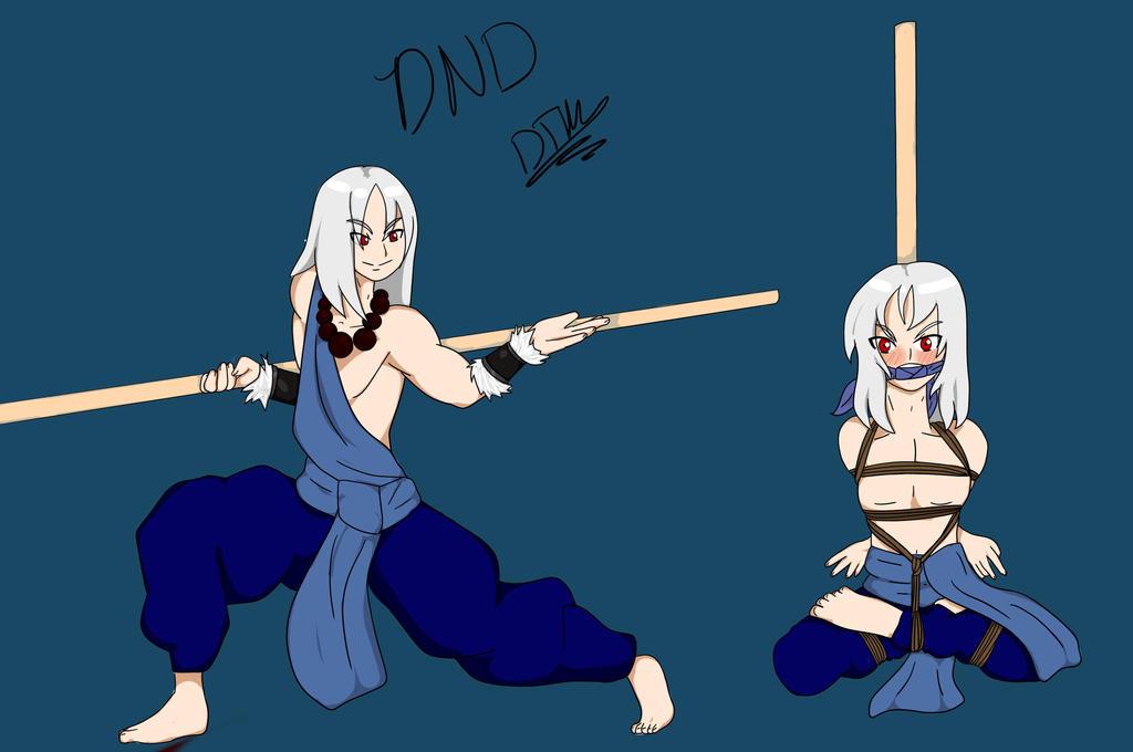 Monk Damian commission by LittleShiro-kun