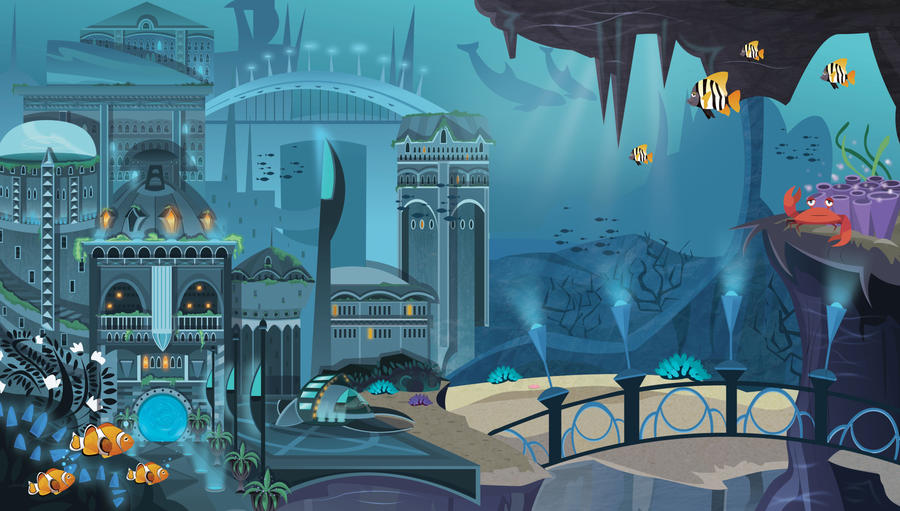 Atlantis by CourtneyBowen