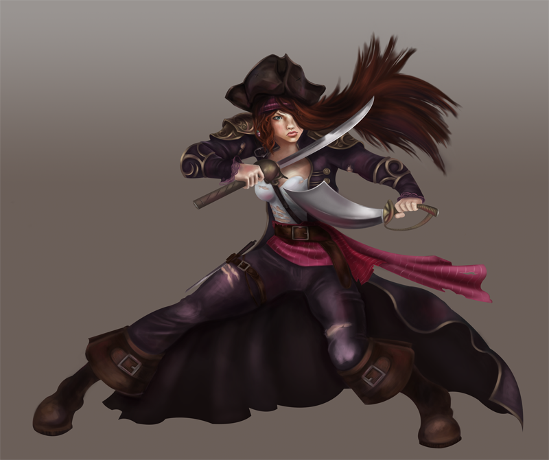 Pirate Concept by CourtneyBowen