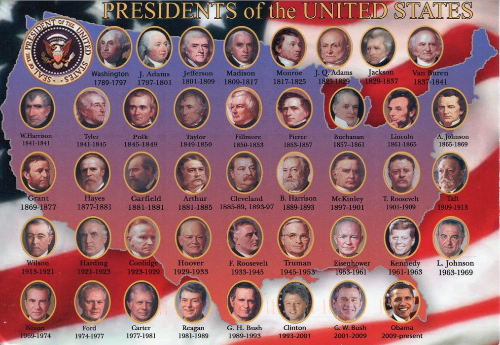 Image For Timeline Presidents Of The United States